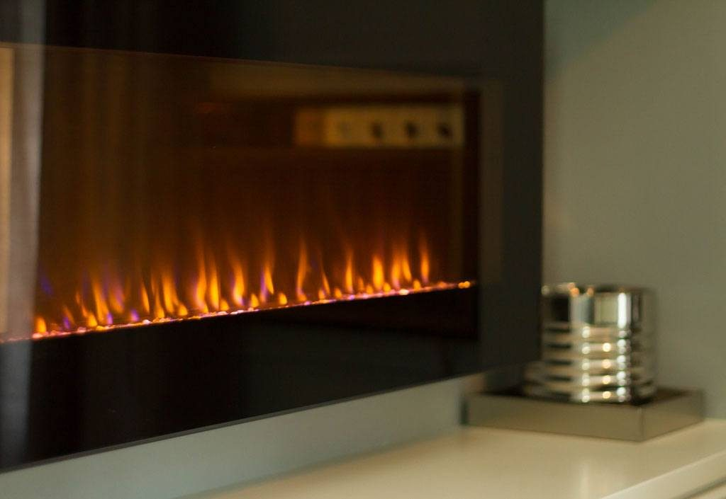 Fireplace at Twin Oaks Inn