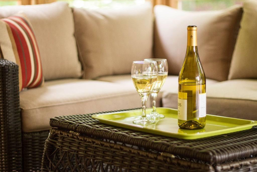 Wine Time at Twin Oaks Inn