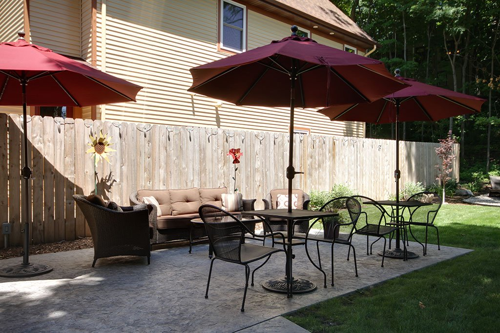 Twin Oaks Patio