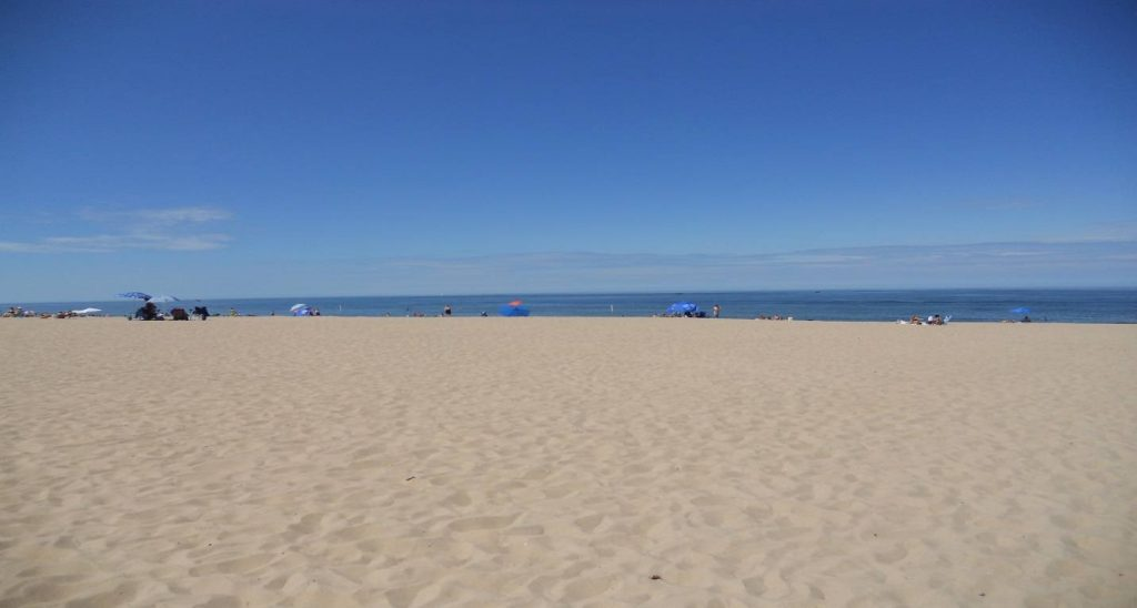 Beach in Saugatuck, Michigan