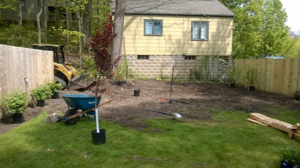 Twin Oaks B & B Landscaping Construction