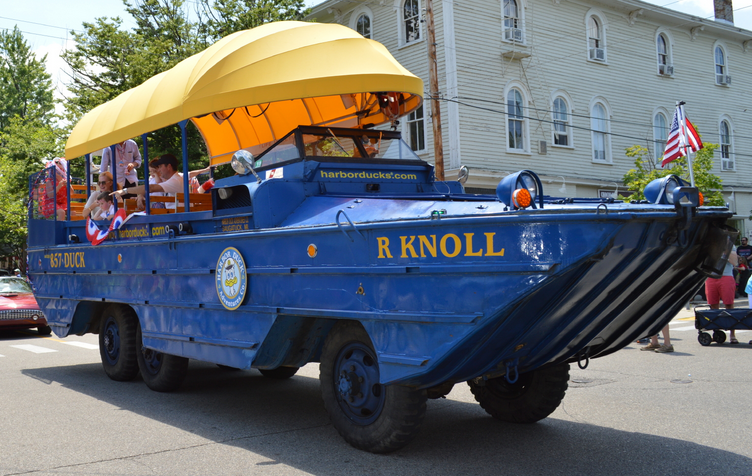 Watertaxis offer an interesting and fun way to get around the harbors in Saugatuck and Douglas, MI